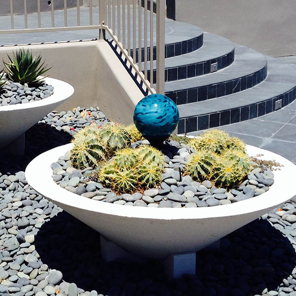 Orb in Planter