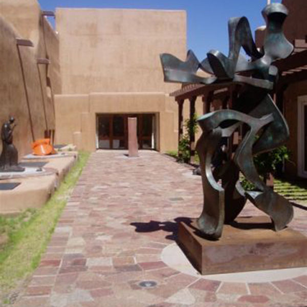 NM Museum of Fine Arts Sculpture Garden