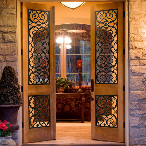 Bello-Faux-Iron-Residential-French-Door